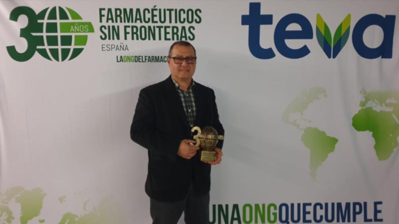 Farmacéuticos sin Fronteras concede a Farmasierra el Premio Solidaridad Farmacéutica